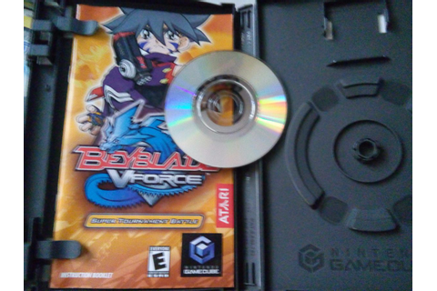 Beyblade V Force Super Tournament Battle Game Cube ...