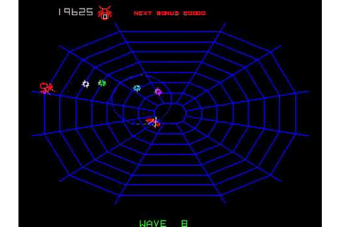 Arcade Game: Black Widow (1982 Atari) [Re-Uploaded] - YouTube