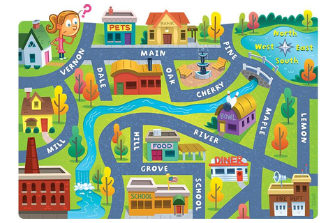 kid map - Google Search | 地図 | Pinterest | Review games ...
