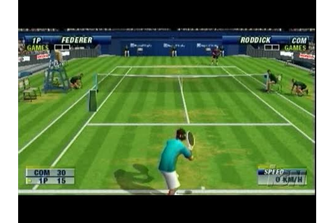 Virtua Tennis World Tour Sony PSP Gameplay - Damn - YouTube