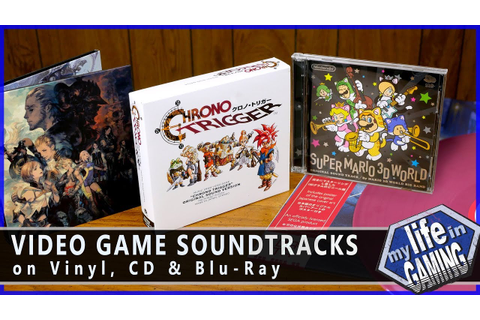 Video Game Soundtracks on CD, Vinyl, and Blu-ray / MY LIFE ...