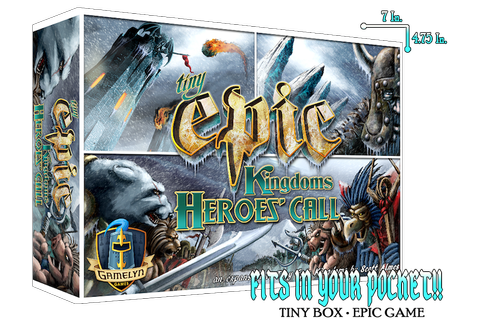 Tiny Epic Kingdoms Heroes' Call & TEK 2nd Edition by ...