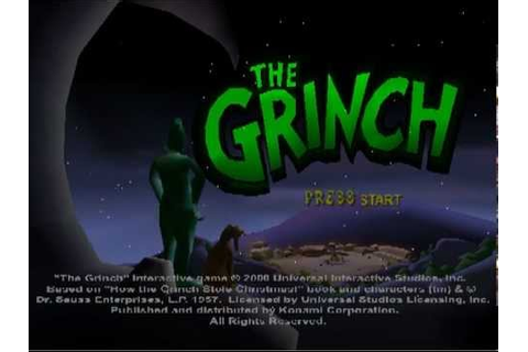 The Grinch (PC / Sega Dreamcast / Sony Playstation) - Part ...