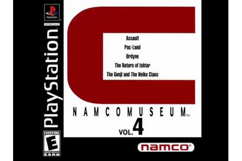 Namco Museum Vol. 4 - The Return of Ishtar Game Room Theme ...