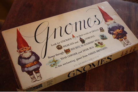 1979 Parker Brothers Gnomes Board Game. RARE. by Recy on Etsy