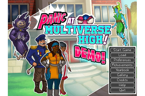 PANIC at Multiverse High! Demo Download