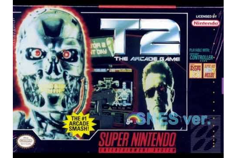 T2: The Arcade Game [Music] - Escape from T1000 (Stage 6 ...