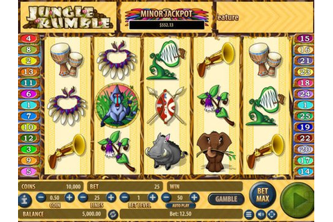 Play the Jungle Rumble Slot Machine in No Download Free ...