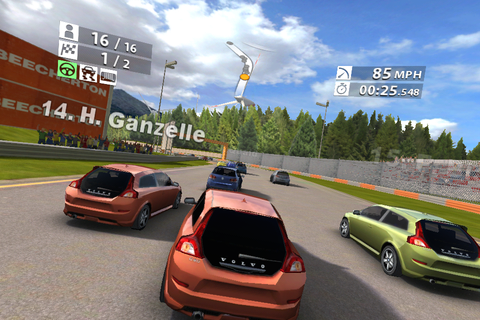 Android Application: Android Games Real Racing 2