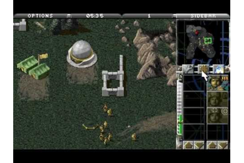 DOS Game: Command & Conquer - Red Alert - Counterstrike ...