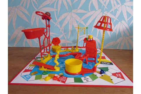 1960s/70s Mouse Trap Game by Ideal Toy Corp