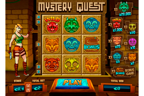 Mystery Quest Slot Machine Online ᐈ Pariplay™ Casino Slots