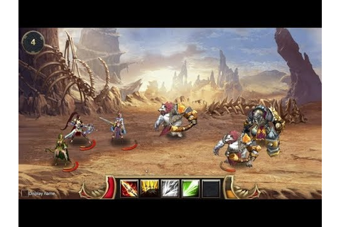Eternal Fury 2 - BEST GAMEplay Fantasy Strategy RPG - YouTube