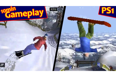 Cool Boarders 4 ... (PS1) - YouTube