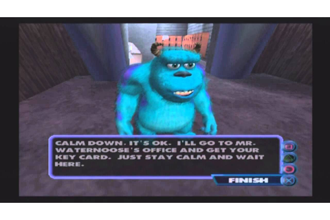 Monsters, Inc. (PS2) Gameplay/Level 1 - YouTube