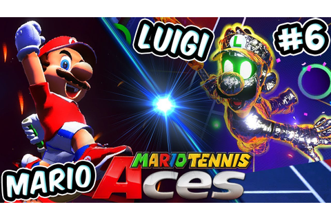 ABM: Mario Tennis Aces Gameplay Adventure !! Walkthrough ...