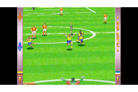 Soccer Superstars (Arcade) - (1 coin - Colombia) Full game ...