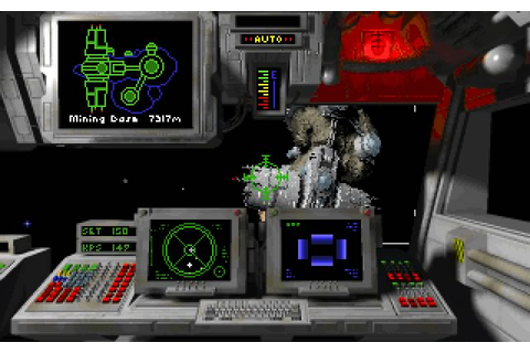 Wing Commander: Privateer vehicle simulation for DOS (1993 ...