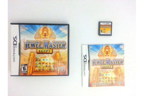 Jewel Master Egypt game for Nintendo DS (Complete) | The ...