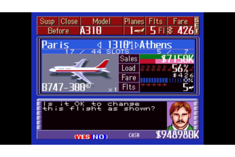 Aerobiz Supersonic (USA) ROM