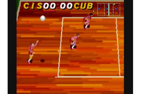 Gameplay - Dig & Spike Volleyball SNES - YouTube