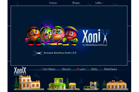 Screenshot, Review, Downloads of Shareware RoboToys Xonix