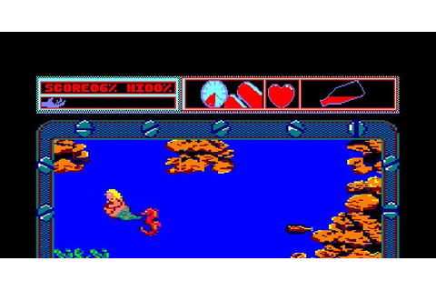 Mermaid Madness | Juego: Amstrad | Electronic Dreams Software