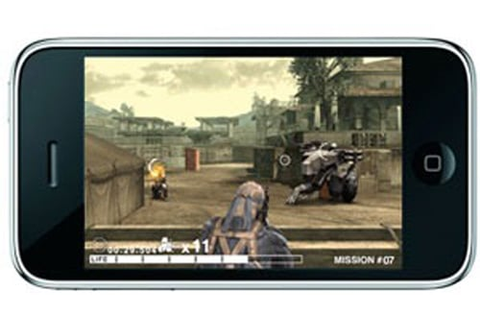 Metal Gear Solid coming to the iPhone