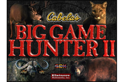 Download Cabela's Big Game Hunter II (Windows) - My ...