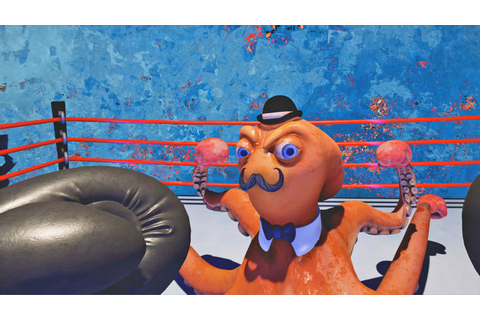 Cartoonish VR Boxing Games : knockout league