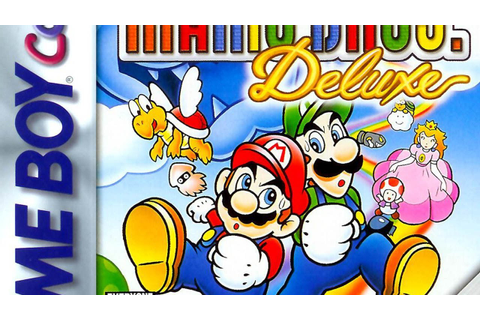 CGRundertow SUPER MARIO BROS. DELUXE for Game Boy Color ...