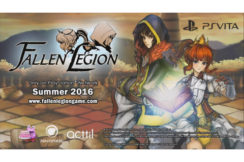 Fallen Legion - PS Vita Game - YouTube