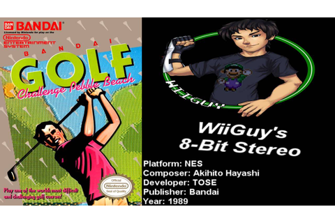 Bandai Golf: Challenge Pebble Beach (NES) Soundtrack ...