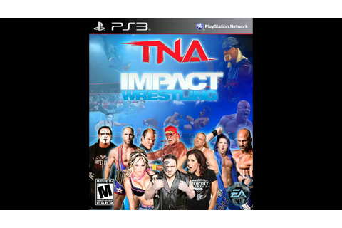 TNA Impact Wrestling 2011 l Video Game Front Cover HD-720p ...