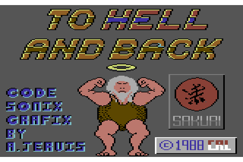 To Hell and Back (1988) C64 game