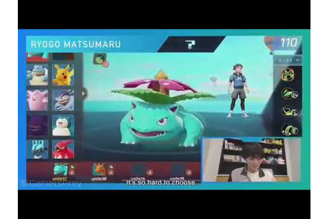 Pokemon Unite Game Play - YouTube