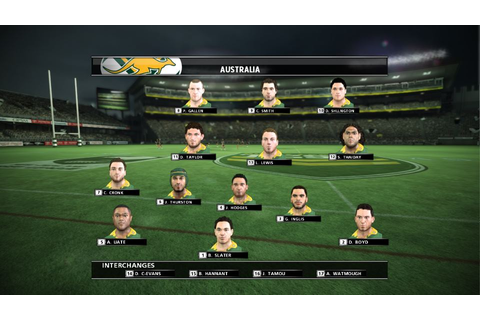 New Rugby League Live 2 Screenshots Unveiled