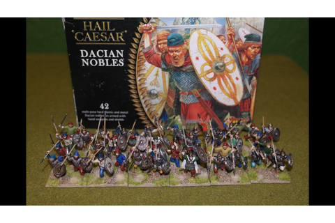 Dacian Nobles Warlord Games - YouTube