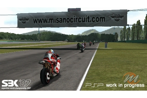 SBK'07: Superbike World Championship - PSP