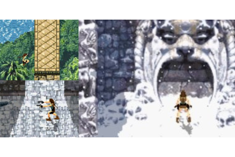 Lara's visual progression up to the 'Shadow of the Tomb ...