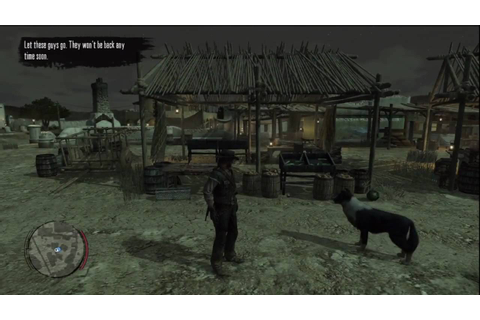 Red Dead Redemption: Night watch Job - Game play - YouTube