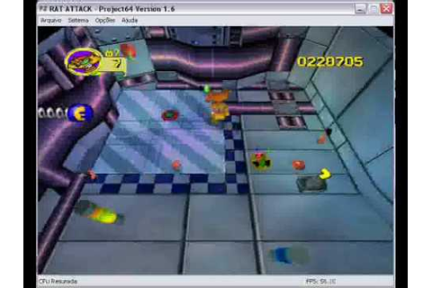 Rat Attack! - Space (Nintendo 64 game) - YouTube