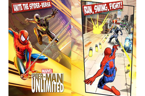 Spider-Man Unlimited Now Available for Android, iOS and ...