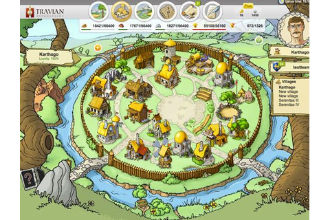 Travian « Strategy Browser Game - Play Free Online
