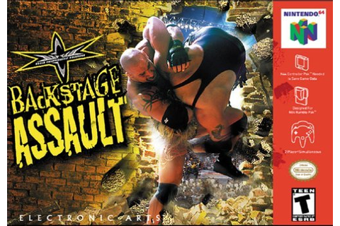 Year Of The Game: WCW Backstage Assault