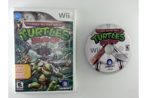 Teenage Mutant Ninja Turtles: Smash-Up game for Wii | The ...