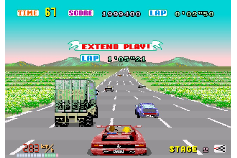 Sega's Out Run: Even better than the wheel thing • The ...
