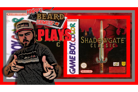 Shadowgate | Game Boy - YouTube
