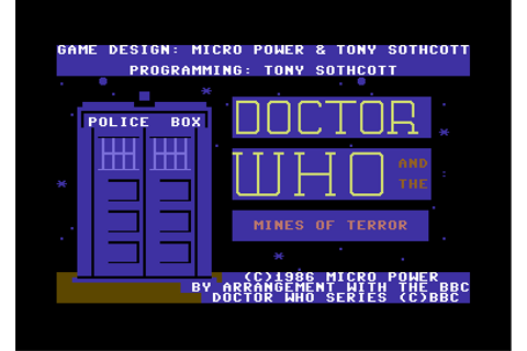 Doctor Who and the Mines of Terror Screenshots for ...
