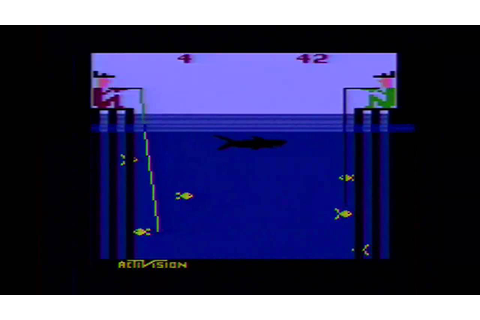 CLASSIC GAMES REVISITED - Fishing Derby (Atari 2600 ...
